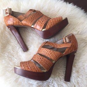 Michael Kors Platform Heel Sandals